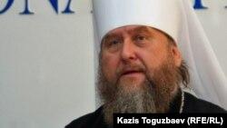 Глава Православной церкви Казахстана митрополит Александр. Алматы, 5 января 2011 года.