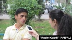 Беседа с Бахромом Почоевым