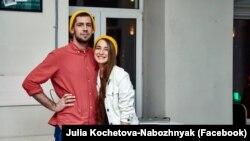 Співзасновники кондитерської Veterano Brownie (Київ) Роман Набожняк і Юлія Кочетова-Набожняк