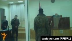 Արտակ Նազարյանի մահվան գործով դատավարություն Երեւանում, արխիվային լուսանկար