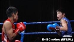 Жаш боксчулардын беттеши, 2014-жыл.