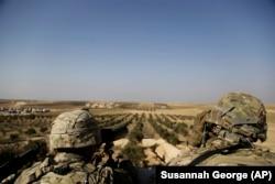 Американские военные в Сирии.