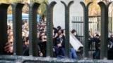 درگیری دانشجویان دانشگاه تهران با ماموران امنیتی