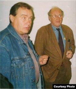 Алексей Порай-Кошиц и Иосиф Бродский. Нью-Йорк, 1990-е.