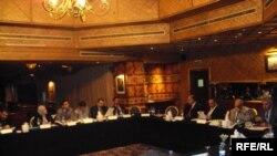 قضاة عراقيون في دورة تدريبية ببيروت