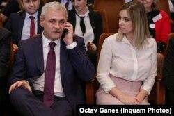 Liviu Dragnea și prietena sa, Irina
