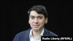 Григорий Мельконьянц в студии Радио Свобода