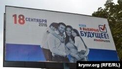 Російська передвиборна агітація в окупованому Криму