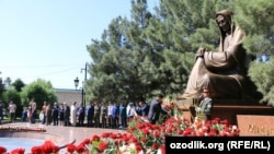 Празднование Дня памяти в Самарканде.
