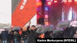 Фестиваль в Парке Горького Meat&Beat. Фото: Карина Меркурьева