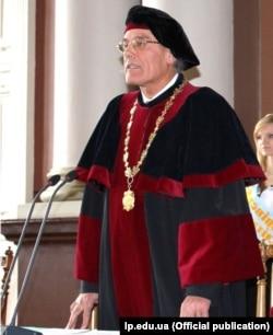 Ректор Національного університету «Львівська політехніка», професор Юрій Бобало