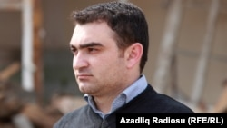 Azerbaijan.Baku. Writer. Javid Zeynallı