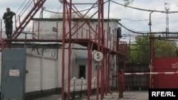 Вид на тюрьму 159/6 в поселке Долинка Карагандинской области.
