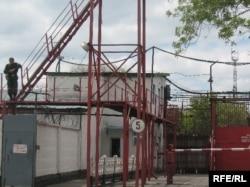 Долинка түрмесі. Қарағанды облысы, 21 мамыр 2010 жыл.