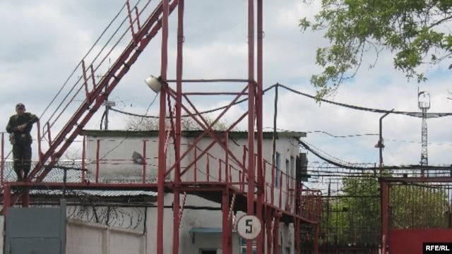 Вид на одну из тюрем в Карагандинской области.