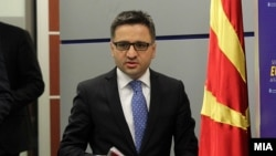 Министерот за финансии Фатмир Бесим