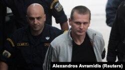 Задержанный в Греции россиянин Александр Винник, подозреваемый в мошенничестве и отмывании денег.