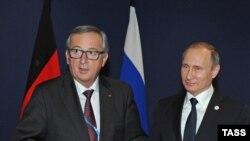 Jean Claude Juncker i Vladimir Putin prilikom jednog od ranijih susreta