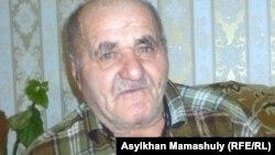Алет Жалалов, житель села Коксай. Алматинская область, 31 января 2012 года.