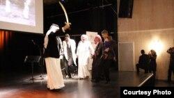 جانب من فعاليات المهرجان الثقافي العربي الأهوازي في السويد