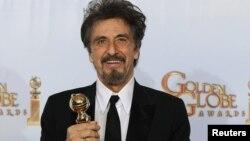 """Al Pacino """"Golden globe"""" mükafatı ilə, 2011"""