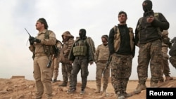 "Бойцы ""Сирийских демократических сил"""