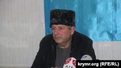Ахтем Чийгоз на заседании Меджлиса крымских татар