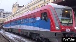 Ostalo je još napis na vozu: Kosovo je Srbija