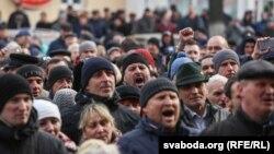 «Марш недармоїдів» в Орші, 12 березня 2017