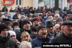 «Марш недармоїдів» в Орші, 12 березня 2017 року