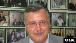 Anatoliy Hrytsenko is a former defense minister.