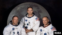 Члени екіпажу «Аполлона-11»