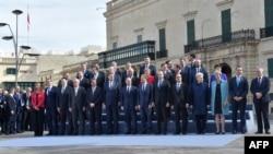 Lideri EU na zvaničnom fotografisanju na summitu EU na Malti, Valeta 3.februar 2017.