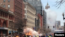 Eksplozije na maratonu u Bostonu