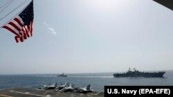 Anijet e SHBA-së në Detin Arab.