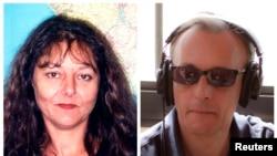 Малиде қаза тапқан France International (RFI) радиосы журналистері Гилен Дюпон (сол жақта) мен Клод Верлон.