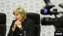 Претставничката за слобода на медиуми на ОБСЕ, Дуња Мијатовиќ.