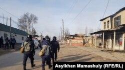 Qazaxıstanın Masançi kəndi toqquşmalardan sonra