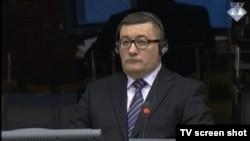 Milenko Karišik tijekom svjedočenja