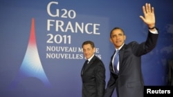Nicolas Sarkozy (left) and Barack Obama have at least one opinion in common.