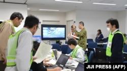 Radnici prefekture Fukushima analiziraju situaciju nakon zemljotresa