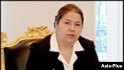 Ozoda Emomali, now Tajikistan's deputy foreign minister