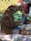 Kazakhstan - Evacuation center for Arys inhabitants in Shymkent