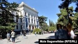 Тбилисский государственный университет (архивное фото)