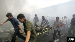 More than 20 people were killed in a suicide bomb attack on a police station in Ingushetia on August 17.