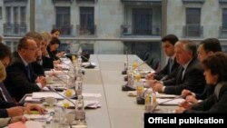 The EU-Armenia Cooperation Council meeting in Brussels in December 2010