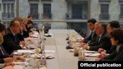 EU -- The EU-Armenia Cooperation Council meets in Brussels, 7Dec2010.