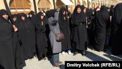 Участницы церемоний в день Ашуры в Исфахане