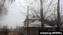 """Нелегальные постройки в парке """"Ата-Тюрк""""."""