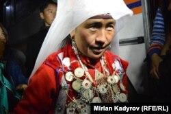 Памирден келген кыргыз аял. 13-октябрь, 2017-жыл